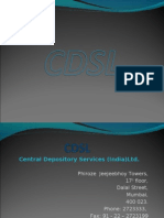 Central Depository Services (India)Ltd.