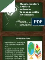Supplementary Skills
