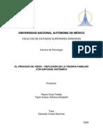 Reyes & Tapia (2008) El Proceso de Video-reflexion en La Terapia Familiar Con Enfoque Sistémico (Tesis Licenciatura)