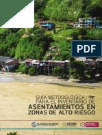 Guia Metodologica Para Aplicacion Inventarios en Zona de Alto Riesgo