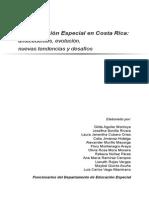 Historia Educación Especial en CR CENAREC