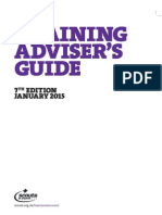 Training Adviser's Guide 7th Edition January 2015 Final