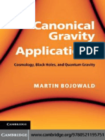 Bojowald - Canonical Gravity and Applications
