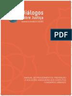 Manual de Procedimentos - Prevenção e Soluções Adequadas Aos Conflitos Fundiários Urbanos