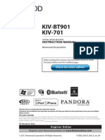 Kenwood Media Streamer KIV-BT901 or 701