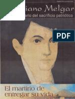 Mariano Melgar Bicentenario del Sacrificio Patriótico