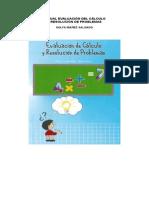 Manual de Aplicación Evaluación del Cálculo y Resolución de Problemas