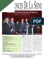 Edition Du Jeudi 12 Mars 2015