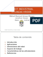 Robot Industrial Hr006