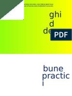 Ghid de Bune Practici 3-6-7 Ani PETI
