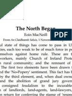 The North Began, Eoin MacNeill
