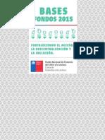 Libro Bases Fondos 2015 Lineafomentodelalectura