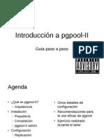 PGpool II Paso a Paso