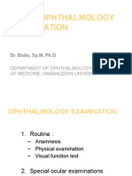 Basic Ophthalmology Examination