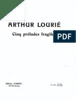 Lourie 5 Preludes