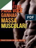 4 Dicas Poderosas Para Ganhar Massa Muscular