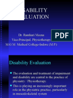 Disability Evaluation