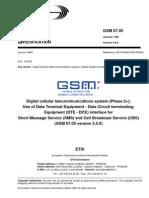 Etsi Gsm 07.05 5.5.0