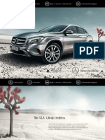 Mercedes GLA Brochure