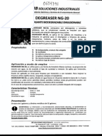 Msds Desengrasante Biodegradable Ng-20 0604791