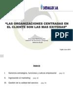 Sedalib,Organizaciones+centradas+en+cliente-2013