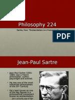 Sartre Existentialism
