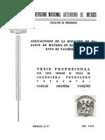 Tesis-Aplicacion de la Ecuación de Balance de Materia en el Comportamiento de Yacimientos.pdf