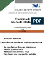 Principios de Interfaces