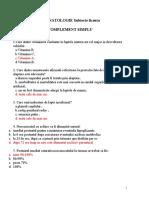 Neonatologie Subiecte Licenta Complement Simplu