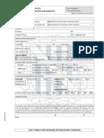 Declaracion datos certificado energetico