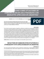 Migrantes Africanos Buenos Aires