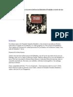 Libro y Disco Recuperan El Acervo Del Barrio Matadero Franklin a Través de Sus Cuecas