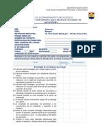 Ficha de Monitoreo - Jornada Escolar Completa