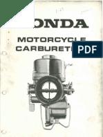 Honda Carburation Manual