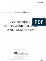 Claude Bolling Concerto for Piano Jazz and Classical Guitar_guitarpart