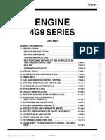 4G9x Mnaual do Motor
