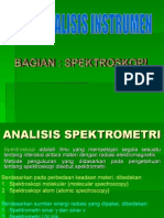 Analisis Spektrometri 111117215444 Phpapp01