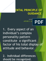 Fundamental Principle of Guidance