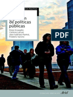 Analisis y Gestion de Politicas Publicas (Joan Subirats)
