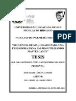 SENTENCIADEMAQUINADOPARAUNAFRESADORADYNAEM3116UTILIZANDOMASTERCAMX.pdf