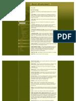 Peoplesoft Terminology