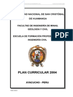 Plan de Estudios 2004 Aprobado