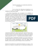 Las Causas de La Contaminación Atmosférica