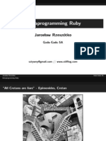 Metaprogramming Ruby