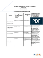 1 Matriz de Diagnostico Organizacional Jhon Mogollon