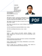 CV Juan Pablo Martínez 2014