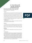 Minimización heuristica del numero de tareas tardias al secuencias lineas de flujo