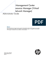 HP Intelligent Management Center v5.1 SP1 Connection Resource (Virtual Application Network) Manager Administrator Guide
