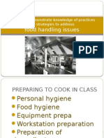 intro to food safety in a commercial kitchen