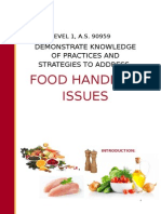introduction to basic food safety booklet